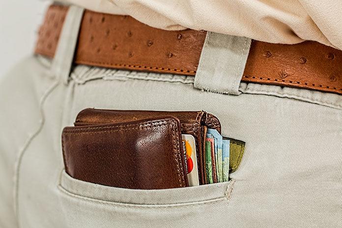 portfel męski RFID
